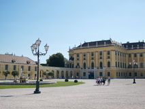 Court of the Schonbrunn Palace in Vienna Royalty Free Stock Image