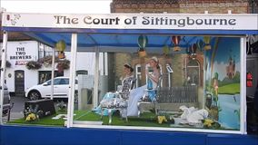 Court of sittingbourne kent beauty contest float carnival