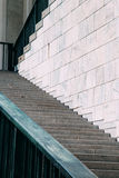 Court steps. Beautiful court steps in marble royalty free stock images