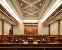 Court suprême de la Caroline du Sud Images libres de droits