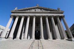 Court suprême de New York Photos libres de droits