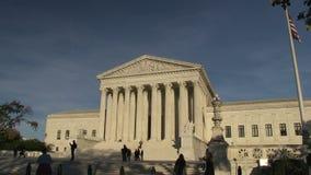 Court suprême des Etats-Unis banque de vidéos