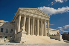 Court suprême des Etats-Unis, Washington DC Images libres de droits