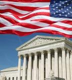 Court suprême des USA Photos stock