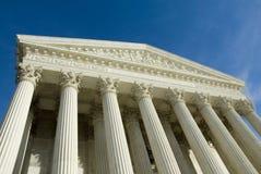 Court suprême des USA dans le Washington DC Photos libres de droits