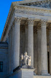 Court suprême des USA - la contemplation de la justice Image libre de droits