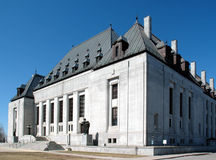 Court suprême du Canada photo stock