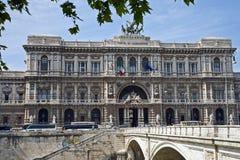 Court suprême du ` s de Rome pendant la journée images stock