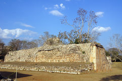 Court in Uxmal Royalty Free Stock Photos