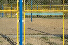 Court volleyball Royalty Free Stock Image