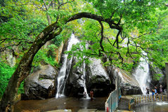 Courtallam or Kutralam Royalty Free Stock Image