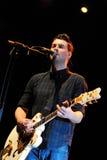 Courteeners (indie рок-группа сформированная в Middleton, большом Манчестере) выполняет на Палау Sant Jordi Стоковое фото RF