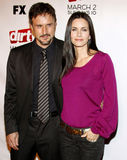 Courteney COX και Δαβίδ Arquette Στοκ Φωτογραφία