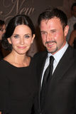 Courteney Cox, David Arquette Royaltyfri Fotografi