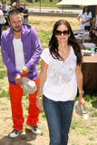 Courteney Cox, David Arquette, Elizabeth Glaser Lizenzfreies Stockfoto