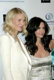 Courteney Cox, Gwyneth Paltrow Royalty Free Stock Image