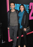 Courteney Cox & Johnny McDaid Royalty Free Stock Image