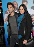 Courteney Cox & Johnny McDaid Royalty Free Stock Photos