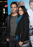 Courteney Cox & Johnny McDaid Stock Photo