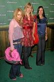 Courteney Cox,Laura Dern,Rosanna Arquette Stock Photo