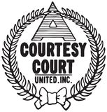 Courtesy Court Logo vector illustration