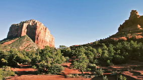 Courthouse and Bell Rock in Sedona, Arizona