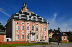 The courthouse in Bruchsal Stock Photos