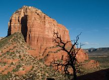 Courthouse Butte. Near Sedona Arizona Royalty Free Stock Image