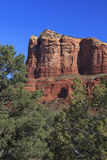 Courthouse Butte Close Up Sedona Stock Image