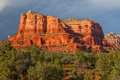 Courthouse Butte Landscape Sedona Stock Image