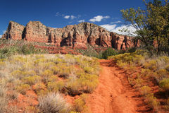 Courthouse Butte Loop near Sedona Royalty Free Stock Photography