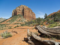 Courthouse Butte near Sedona, Arizona Stock Photos