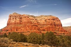 Courthouse Butte in Sedona Stock Photos