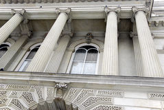 Courthouse Columns Royalty Free Stock Photography