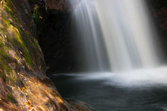 Courthouse falls in North Carolina stock photos