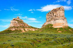 Courthouse and Jail Rocks Royalty Free Stock Photos