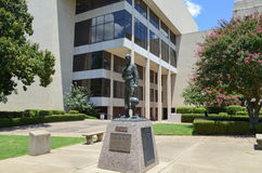 Courthouse Longview, Texas. Courthouse lawn in Downtown Longview, Texas Stock Images