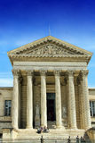 Courthouse of Montpellier. MONTPELLIER, FRANCE – MAY 27, 2014: Courthouse in the city of Montpellier, a city in southern France, which is the capital of the Stock Image