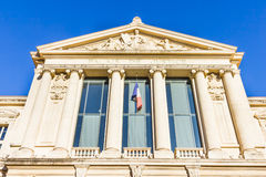 Courthouse in Nice, France Stock Photo