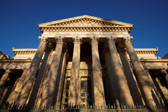 Courthouse, nimes, france Royalty Free Stock Photos