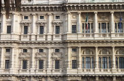 Courthouse Palace in Rome royalty free stock photo