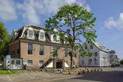 Courthouse of Paramaribo. The old city of Paramaribo is protected as a Unesco heritage site Royalty Free Stock Photos