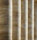 Courthouse Pillars Royalty Free Stock Photo