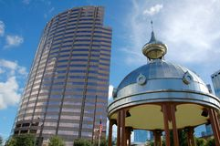 Courthouse Plaza in Tampa Royalty Free Stock Images