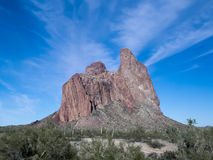 Courthouse Rock Arizona Stock Image