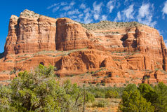 Courthouse Rock, Sedona Arizona Royalty Free Stock Photography