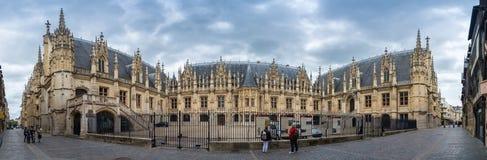Courthouse of Rouen Stock Photo