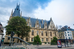 Courthouse of Rouen Stock Photos