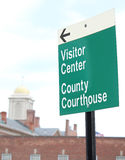 Courthouse Sign 5 Royalty Free Stock Photography