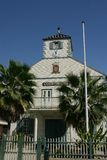 Courthouse of st. Maarten. (st.Martin)West Indies Royalty Free Stock Photography